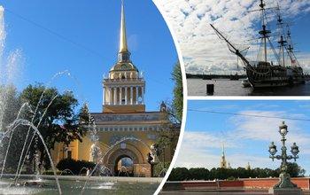 Обзорная экскурсия по Санкт-Петербургу + бонус